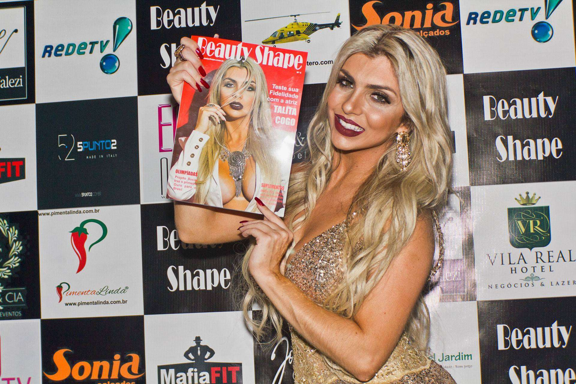 Festa de lançamento da revista  Beauty Shape 1