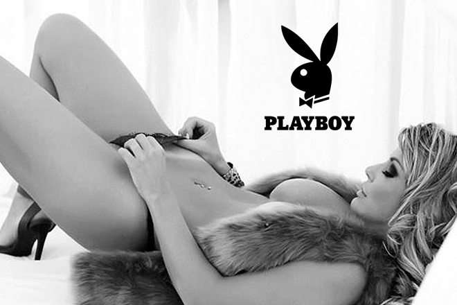 Viviane Bordin capa da revista playboy 21