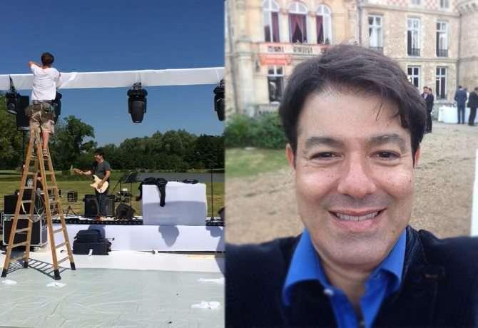 Casamento de filho de Betty Faria e Daniel Filho na França teve show do brasileiro Alex Cohen 1