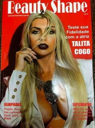 Talita Cogo capa da Revista Beauty Shape 1