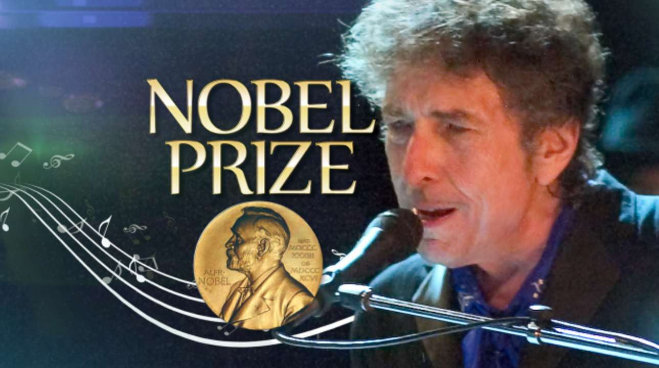 Prêmio Nobel de Literatura - Bob Dylan 1