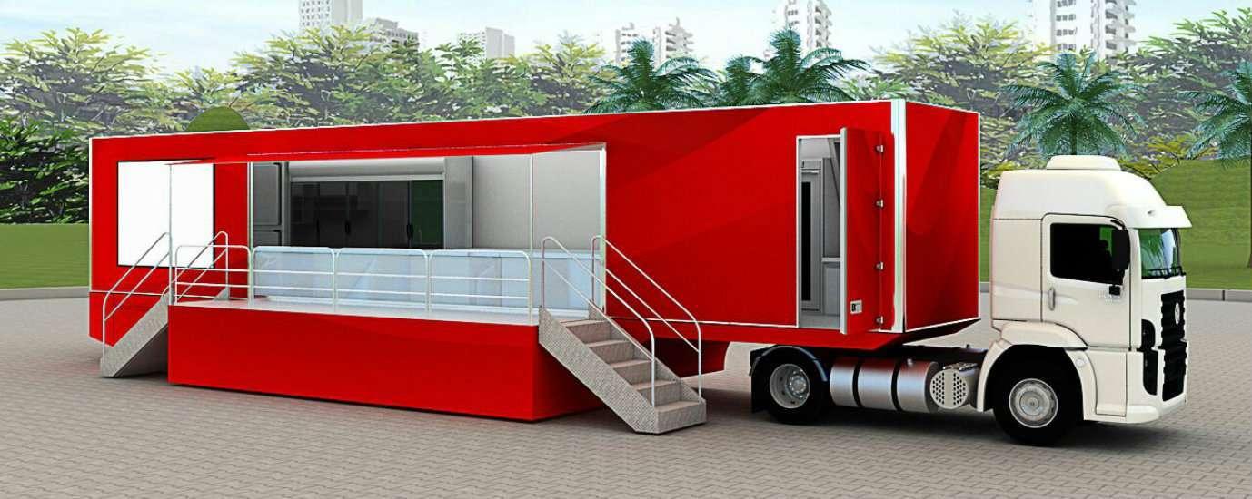 Brasil inaugura o maior food truck do mundo 4