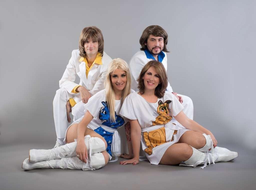 """""""ABBA Mamma Mia – The Tribute"""" fará pocket show nesta quinta-feira no IL Campanario 8"""