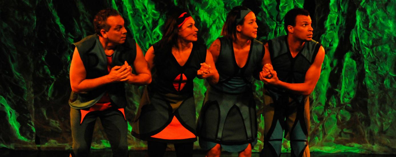 """Cia. Repentistas do Corpo se apresenta em Piracicaba com """"Tupiliques - O Espetáculo"""" 1"""
