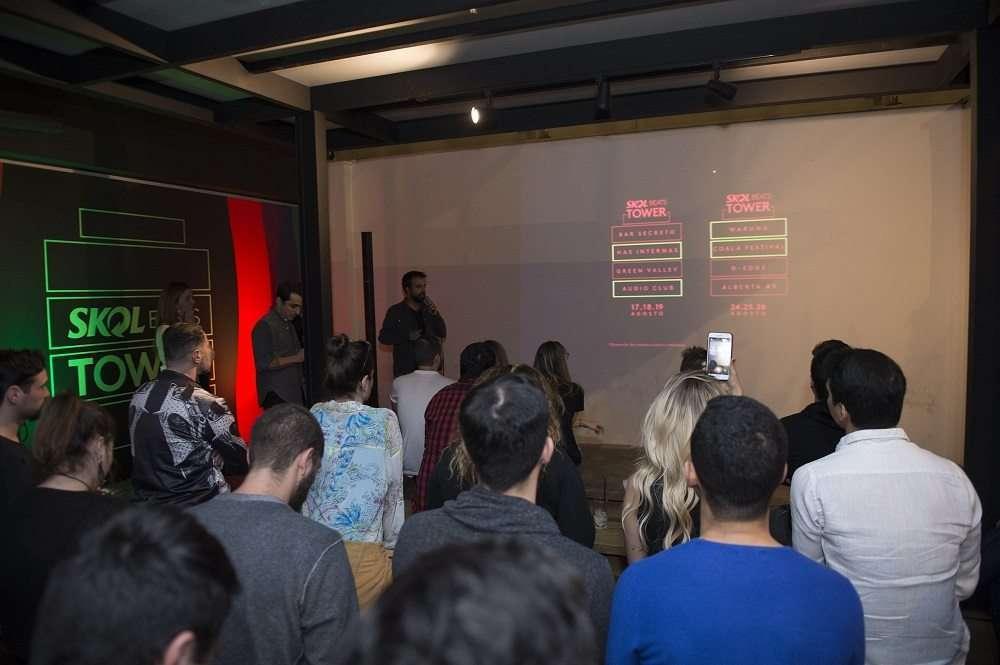 SKOL BEATS TOWER apresenta a programação completa do Festival 7