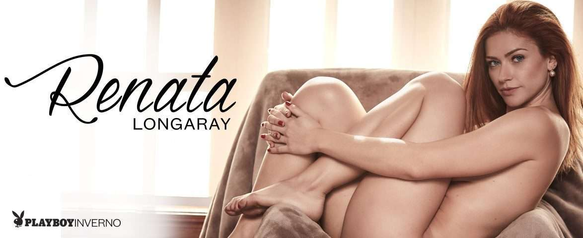 Renata Longaray brilha na capa da Playboy 1