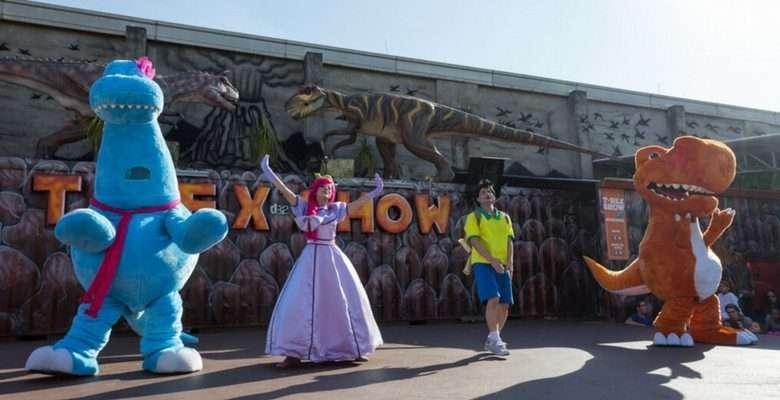 T- Rex Show com Circo - Divulgação