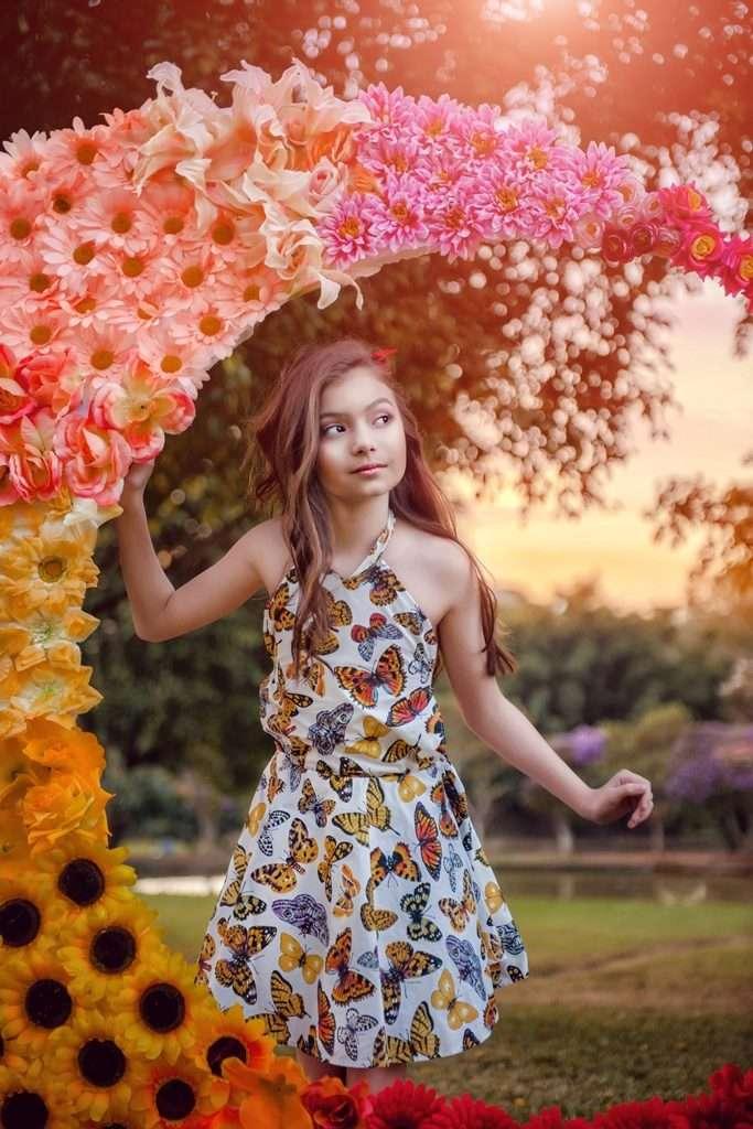 Atriz mirim Valenthina Rodarte realiza ensaio fotográfico dos sonhos 7