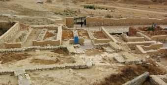 Foto: Deserto de Negev -_www.terrasanta.net