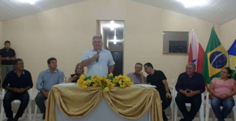 Jailson Alves da Costa Prefeito de Mojuí dos Campos - Foto: Samuel Alvarenga