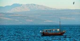 Foto: Mar da Galiléia - www.sendtur.com.br