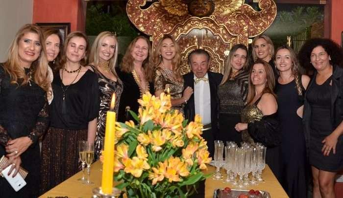 O Embaixador da Itália Stefano Alberto Canavesio , comemora seu aniversário em noite glamourosa 1
