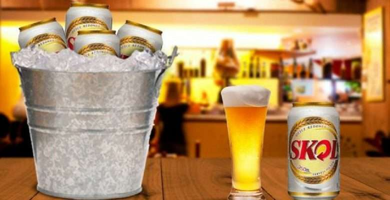 A cerveja SKOL - Divulgação