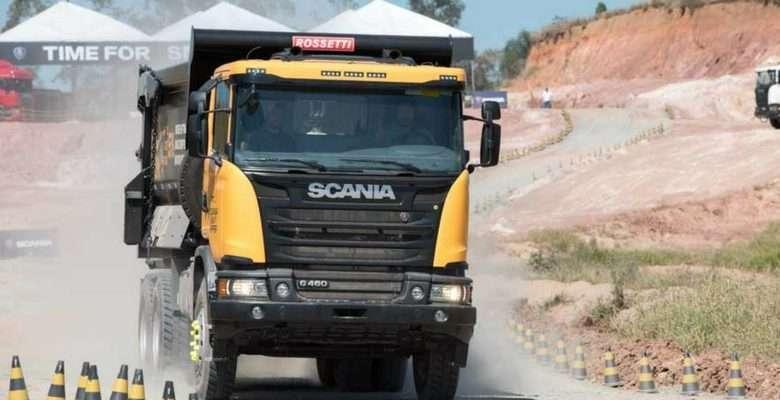 Scania Heavy Tipper - Divulgação