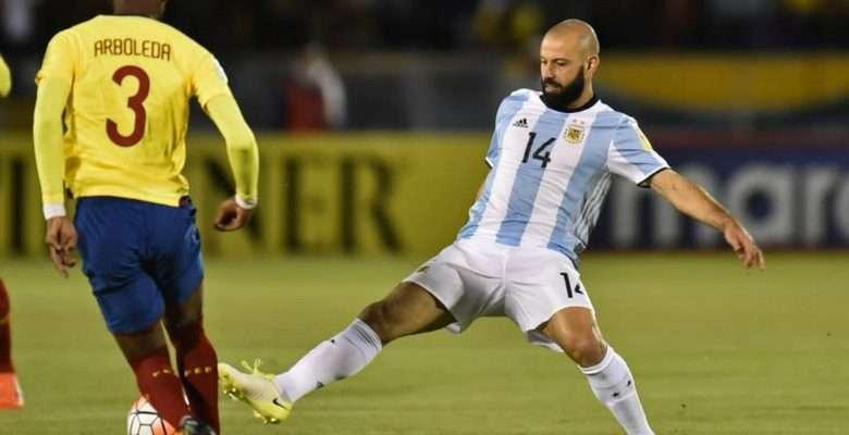 Mascherano anuncia que vai se aposentar da seleção Argentina - Divulgação