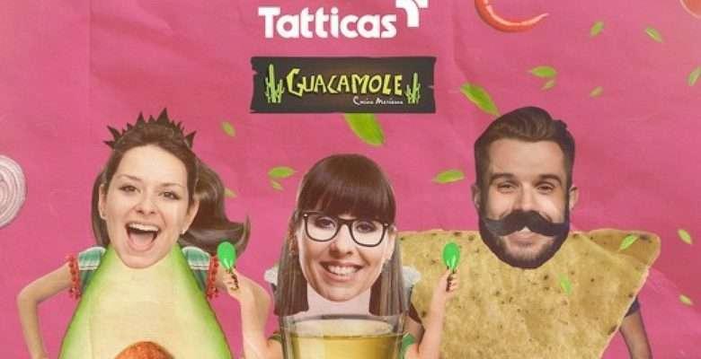 Três personagens digitais Ana Guaca, Carlos Nacho e Bella Tequila