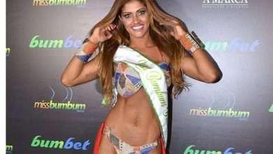 Rosie Oliveira é a Miss Bumbum 2017 2
