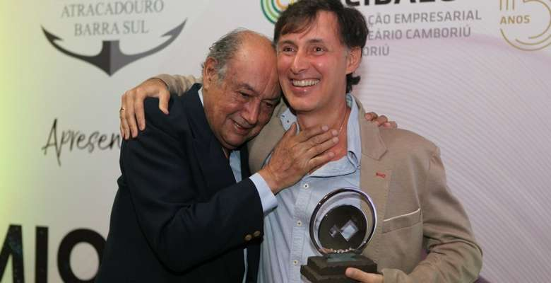 Avelino e Alejandro Olivera, da Pousada Estaleiro Village