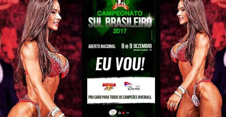 Balneario Camboriu Campeonato Sul Brasileiro fisiculturismo