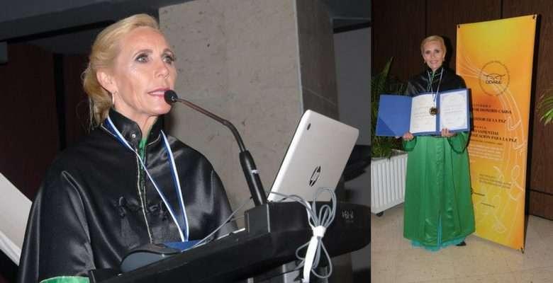 Diretora da Avantis, Isabel Regina Depiné recebe títulos de Doutora Honoris