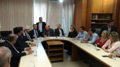 Reunião no Ministério da Agricultura, Pecuária e Abastecimento, em Brasília