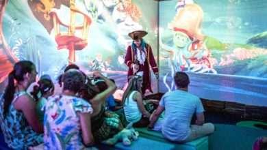 Personagens interativos em 3D encantam público infantil em atração inédita em Maringá 3