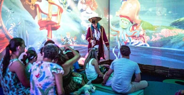Personagens interativos em 3D encantam público infantil em atração inédita em Maringá 1