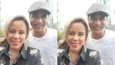 Exclusivo: Viviane Alves entrevista Jon Secada para o programa Fama e Destaque da TV Guarulhos 4