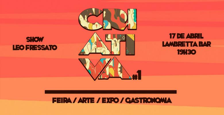 Evento gratuito em Floripa: 1ª edição da Criativa - Feira de Artes 1