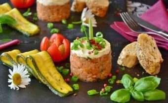 Dietas, Tartar de Salmão - Foto: Donantonia