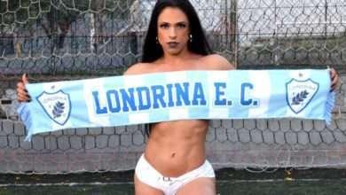 Leislie Aquino, Musa Fitness do Londrina E. C. 2
