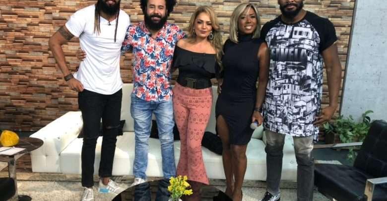 Discussão sobre racismo é tema do programa A Tarde é Show apresentado por Nani Venâncio 1
