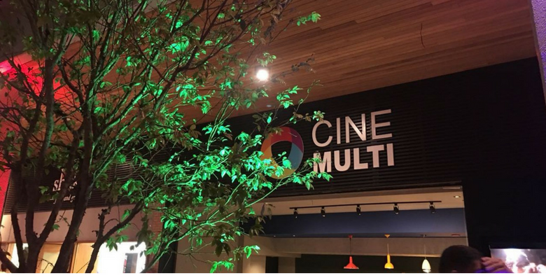 Hoje acontece a 1ª sessão de cinema do CINEMULTI no MULTI Open Shopping 1