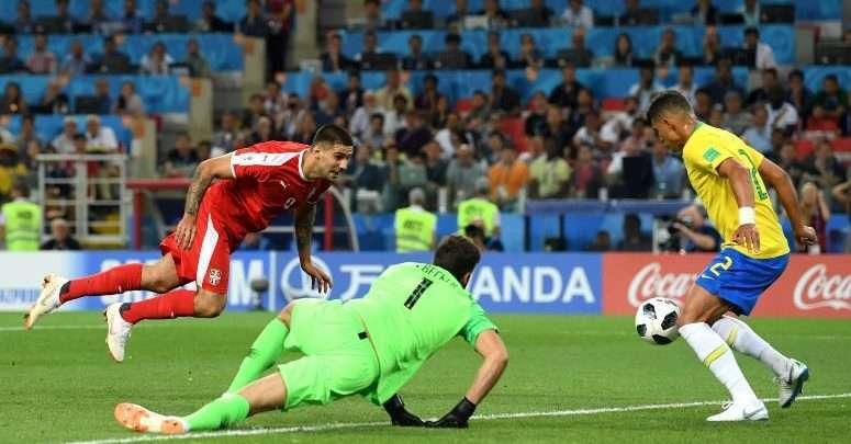 Brasil vence a Sérvia por 2 X 0 e se classifica para as Oitavas de Final 1