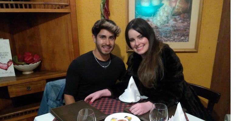 Cantora e atriz Naty Meg escolhe Chile para suas férias 1
