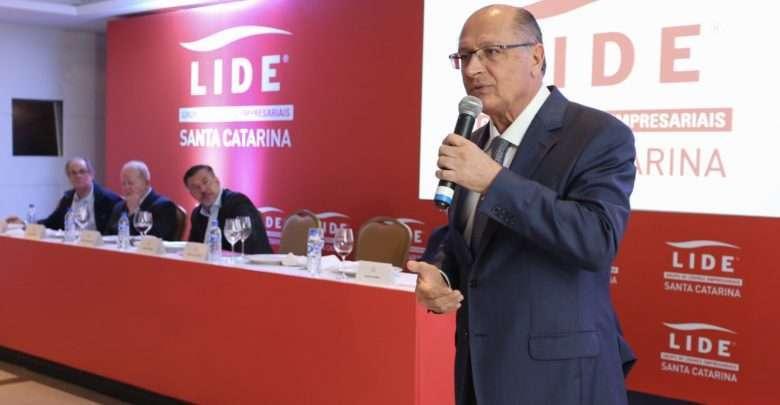 LIDE de Santa Catarina reúne Geraldo Alckmin e empresários para almoço-debate 1