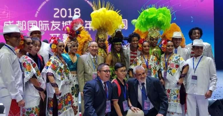 O samba rompe barreiras no Festival Internacional da China 1