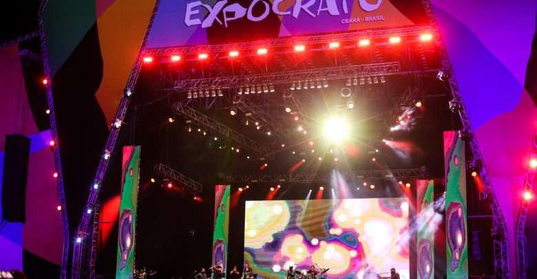Fagner, Eduarda Brasil e Fabio Carneirinho Abre o Festival Expocrato 2018