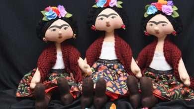 Artesã transforma celebridades em bonecas - Bonecas Frida Kahlo são as mais solicitadas. Foto divulgação.
