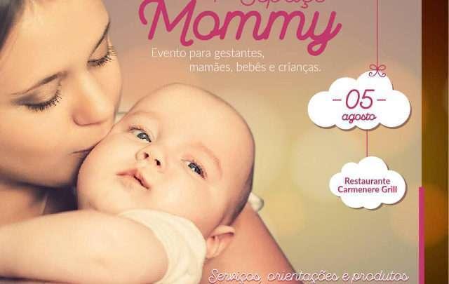 Evento Infantil Espaço Mommy Acontece Domingo em Joinville