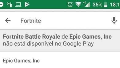 Google coloca aviso sobre indisponibilidade do game 'Fortnite' na Play Store 3