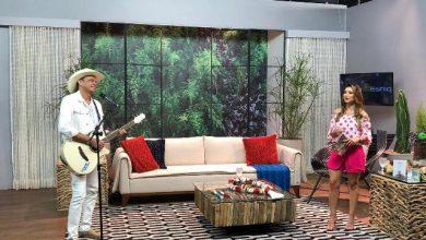 Amanda Françoso recebe o cantor Frank Aguiar no Programa Vida e Estilo 4
