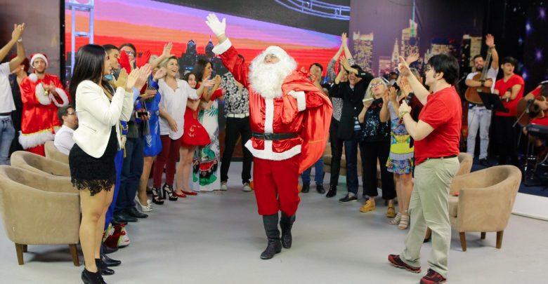 Evê Sobral recebe grandes personalidades para o Especial de Natal