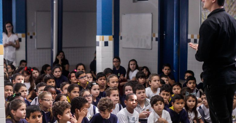 Projeto Contágio atinge mais de 3000 pessoas com teatro e oficinas para crianças em Itajaí