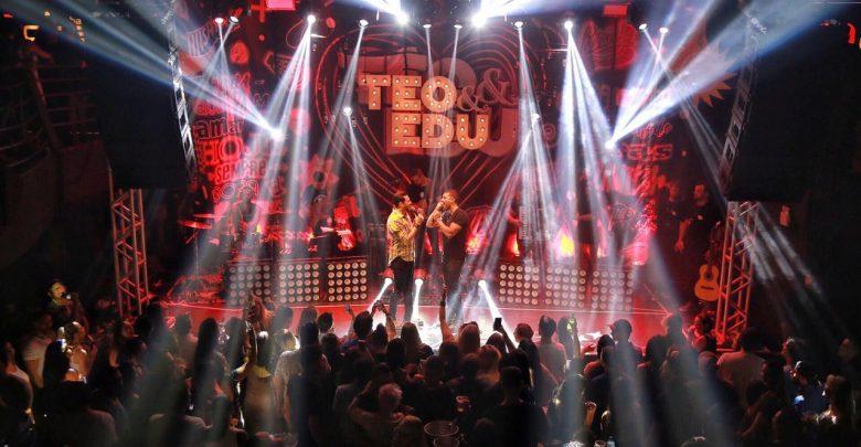 Os irmãos Téo e Edu estão de volta aos palcos