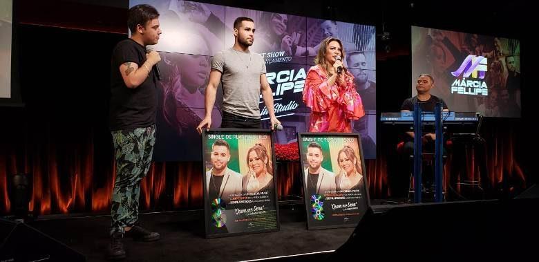 Márcia Fellipe lança novo DVD com pocket show na sede do Google Brasil 1