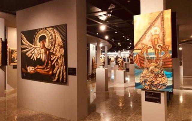 Exposição no Museu de Arte Sacra(MAAS)chama a atençãopara os problemas sociais 1