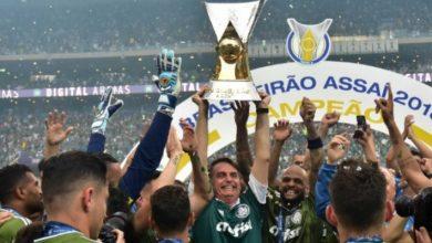 Palmeiras levanta taça de campeão