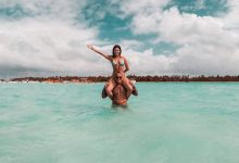 Rian Nogueira posa nas belezas paradisíacas de Punta Cana 9