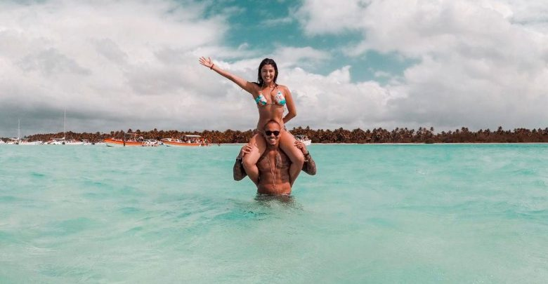 Rian Nogueira posa nas belezas paradisíacas de Punta Cana 1